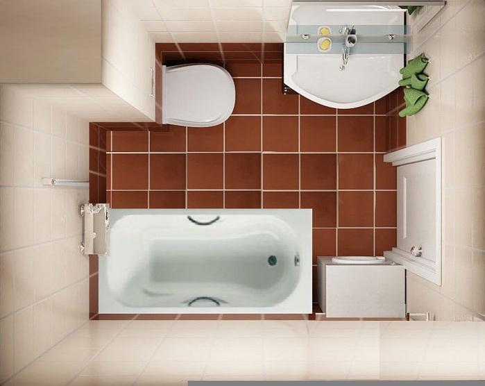 У вас в квартире маленькая ванная комната, не расстраивайтесь и её