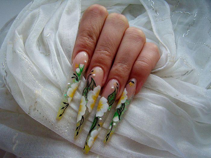 Дизайн ногтей без френча