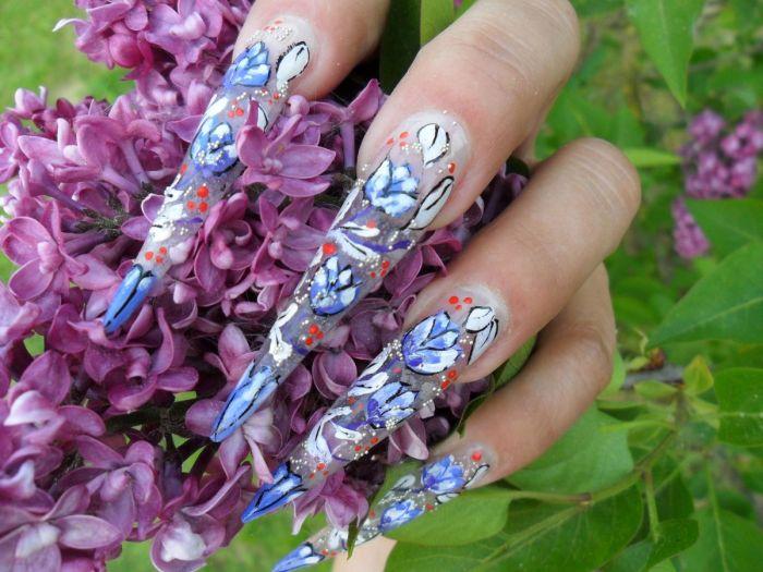 Дизайн гелевых ногтей фото новинки 2013