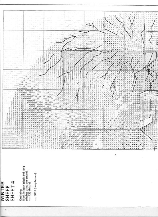 JCWS267 Winter Sheep4-1 (509x700, 226Kb)