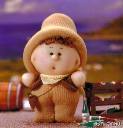 Кукла из носков видео