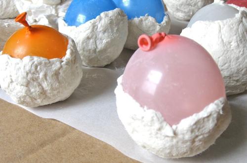 Как сделать папье-маше на шарике