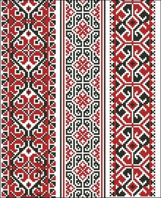 Схеми - вишиванка