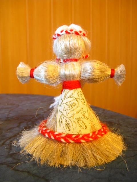 Кукла из ниток скачать