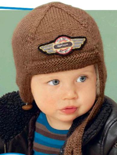 Шапочка =летчика=с ушками вязаная спицами для мальчика/4683827_20120831_172023 (389x517, 163Kb)