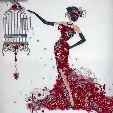 Birdcage Elegance (391x394, 70Kb)