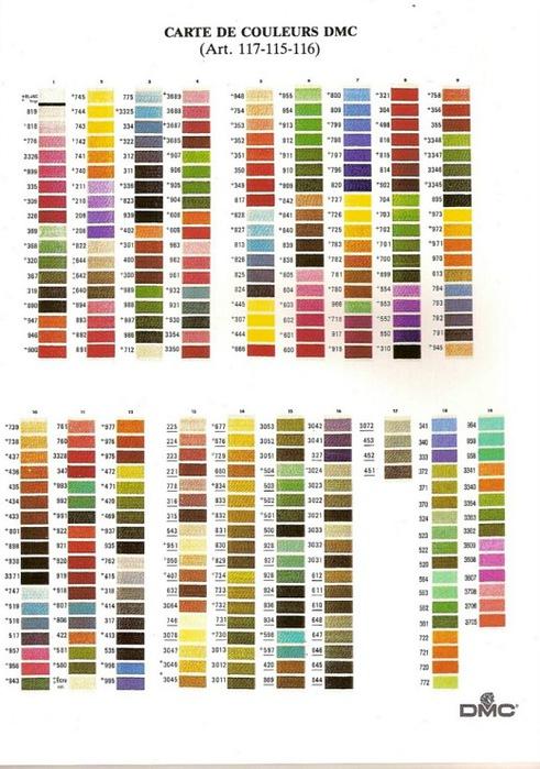 содержит вопросы, что означает в мулине цвета полные