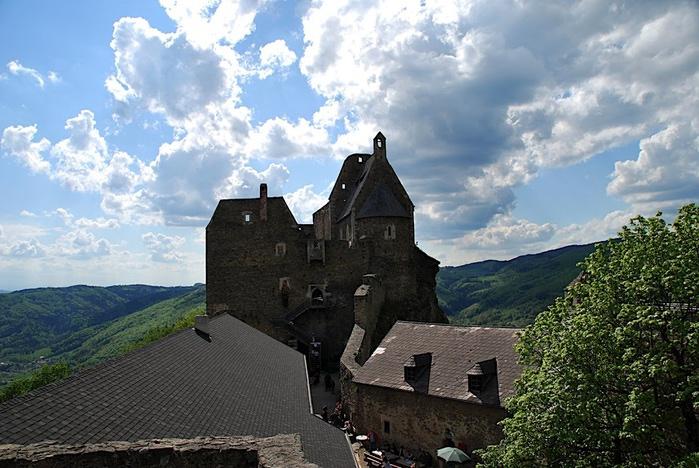 Развалины замка Аггштайн у вод Дуная 38820