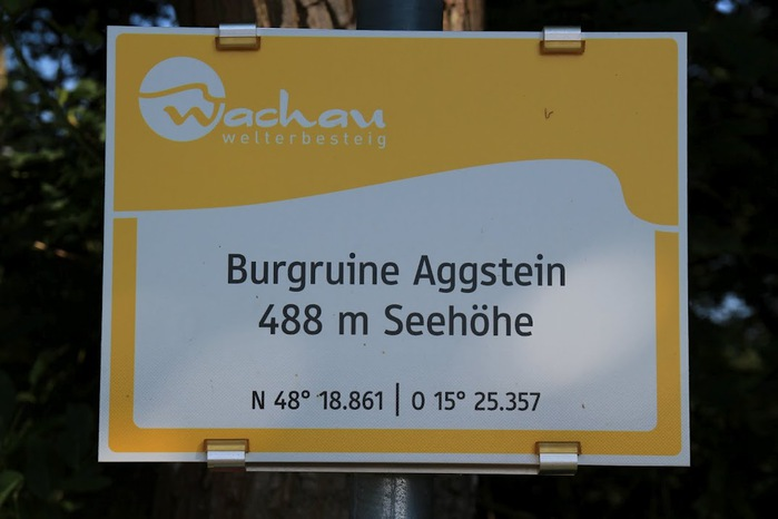 Развалины замка Аггштайн у вод Дуная 10990