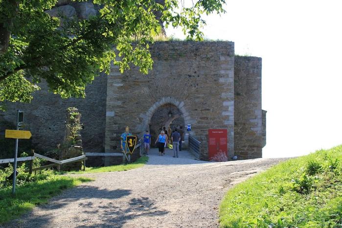 Развалины замка Аггштайн у вод Дуная 84632