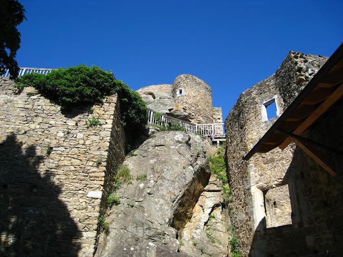 Развалины замка Аггштайн у вод Дуная 23868