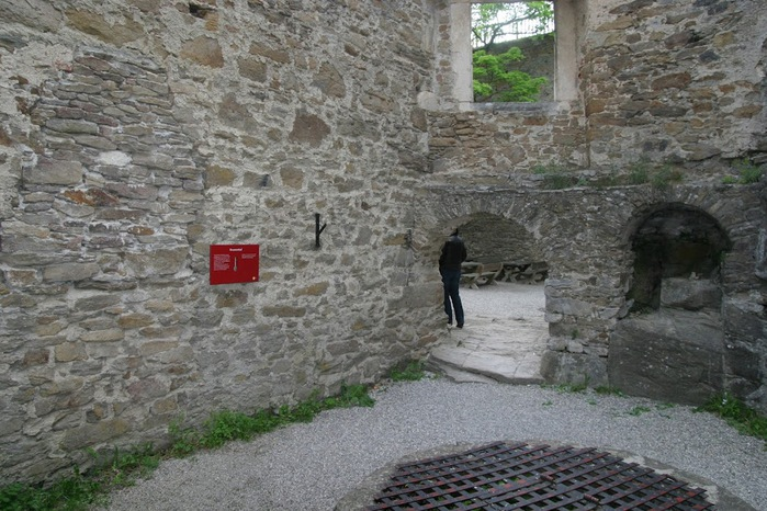 Развалины замка Аггштайн у вод Дуная 24560