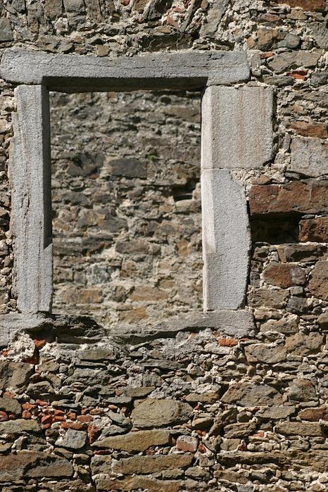 Развалины замка Аггштайн у вод Дуная 25319