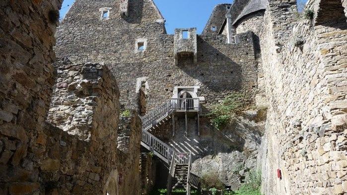 Развалины замка Аггштайн у вод Дуная 83002
