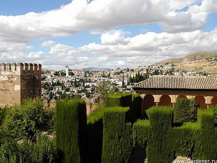 Гранада   испанский город сказка