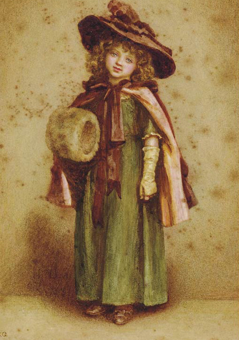 Kate_Greenaway_Young_girl_with_a_muff (492x700, 129Kb)
