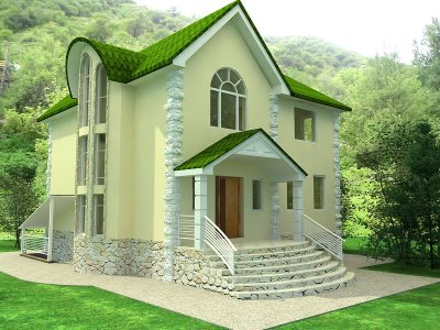 house with design