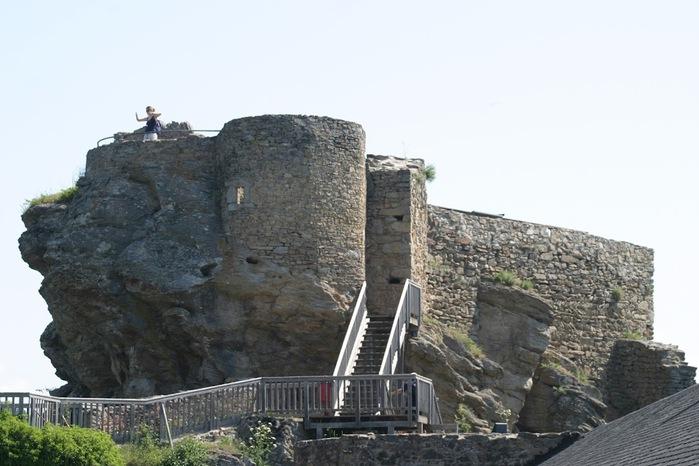 Развалины замка Аггштайн у вод Дуная 56044