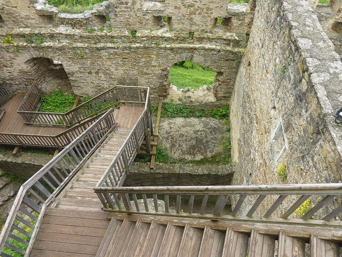 Развалины замка Аггштайн у вод Дуная 20969