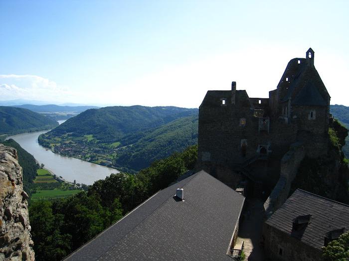 Развалины замка Аггштайн у вод Дуная 91463
