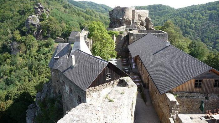 Развалины замка Аггштайн у вод Дуная 31053