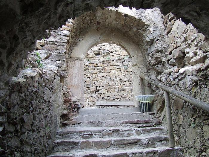 Развалины замка Аггштайн у вод Дуная 47465