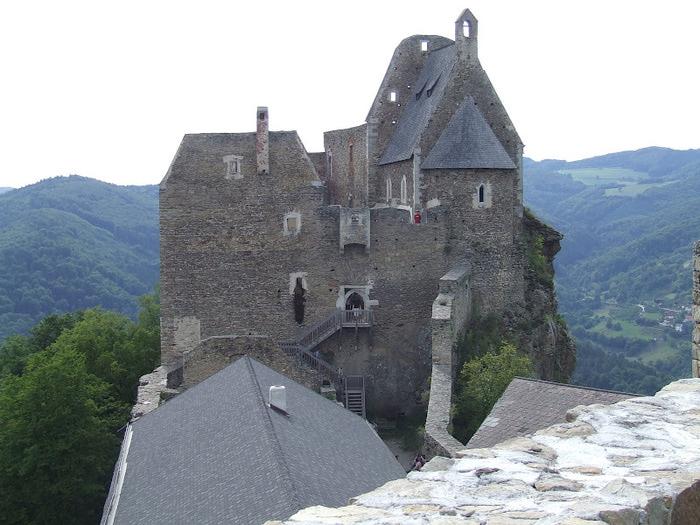 Развалины замка Аггштайн у вод Дуная 18007