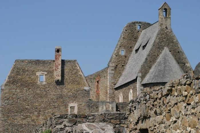 Развалины замка Аггштайн у вод Дуная 40738