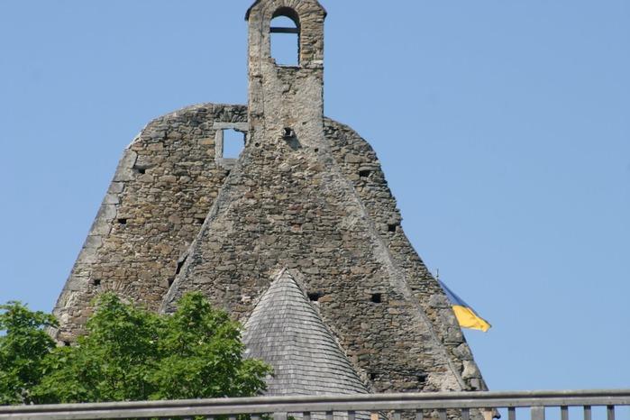 Развалины замка Аггштайн у вод Дуная 73655