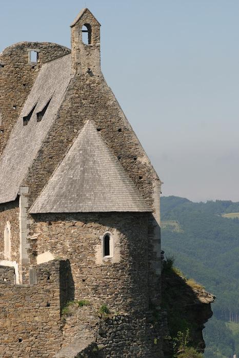 Развалины замка Аггштайн у вод Дуная 30292