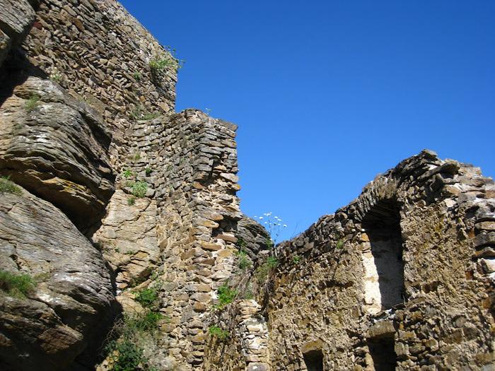 Развалины замка Аггштайн у вод Дуная 31816