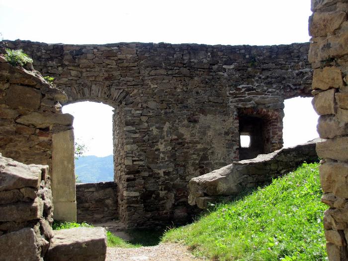 Развалины замка Аггштайн у вод Дуная 45874