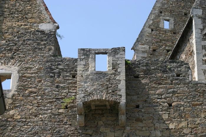 Развалины замка Аггштайн у вод Дуная 21049