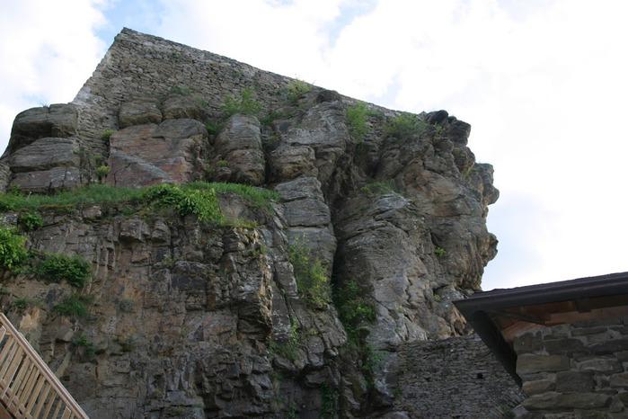 Развалины замка Аггштайн у вод Дуная 57898