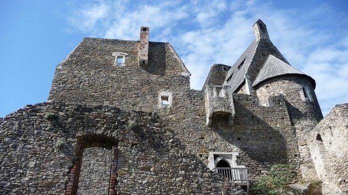 Развалины замка Аггштайн у вод Дуная 31407