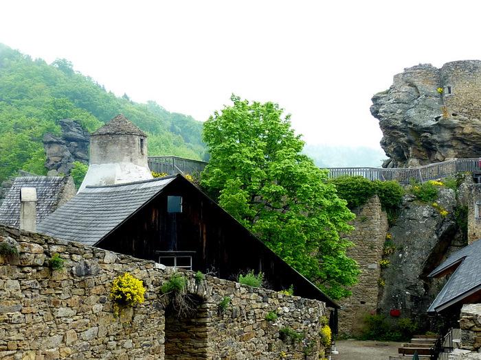 Развалины замка Аггштайн у вод Дуная 73004