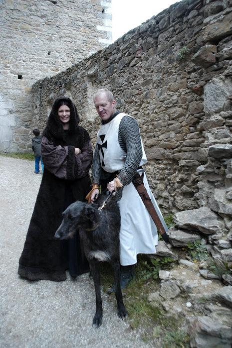Развалины замка Аггштайн у вод Дуная 32922