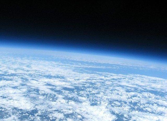 Космические снимки с воздушного шара