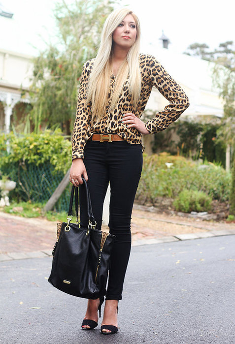 модная черная сумка 2013
