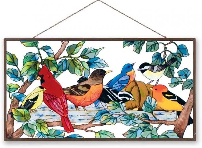 Рисунки для витражей птицы