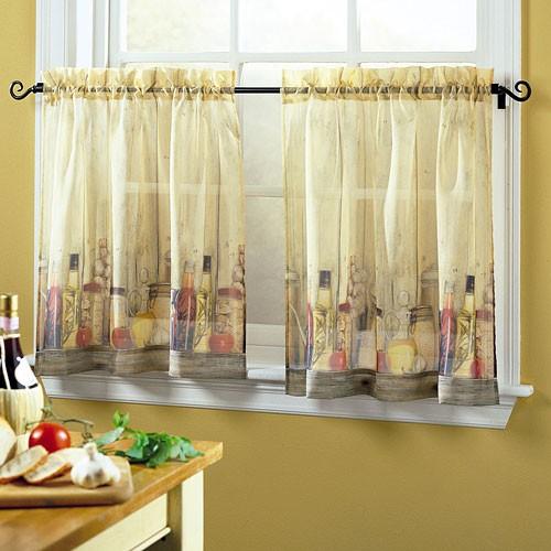 Занавески для кухни своими руками фото