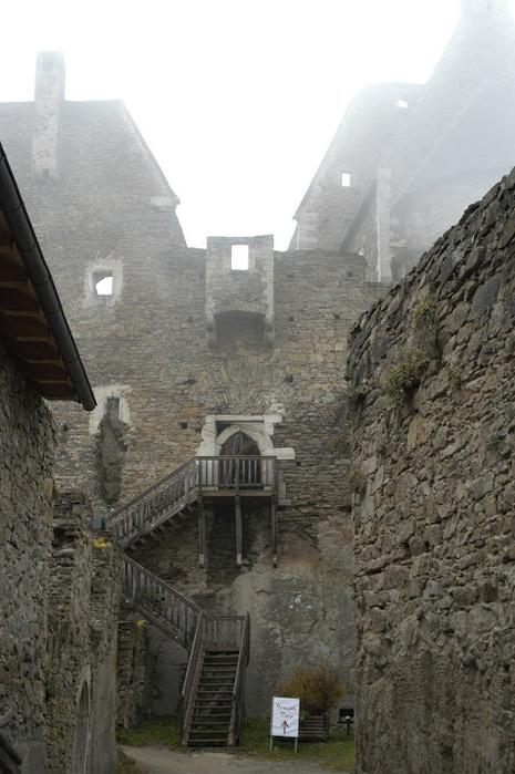 Развалины замка Аггштайн у вод Дуная 46830