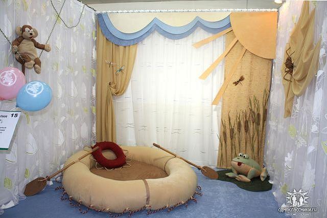 Оформление детские комнаты своими руками