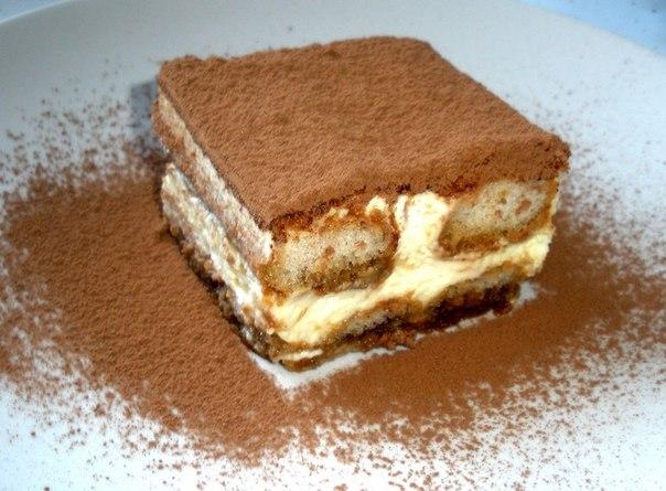рецепт классический итальянского тирамису с фото