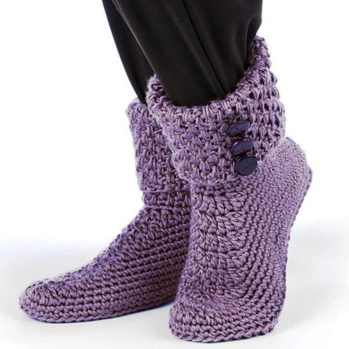 """钩针:""""地暖鞋"""" - 荷塘秀色 - 茶之韵"""