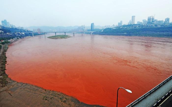 красная река фото Янзы (700x437, 84Kb)