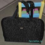 Дорожная сумка органайзер, трансформирующаяся в мобильное панно с карманами: мастер-класс со схемой (выкройкой).
