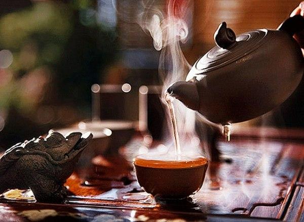 Чай с молоком для потенции