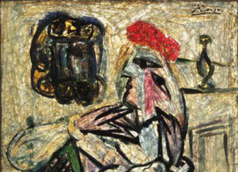 неизвестная картина Пикассо (468x340, 47Kb)