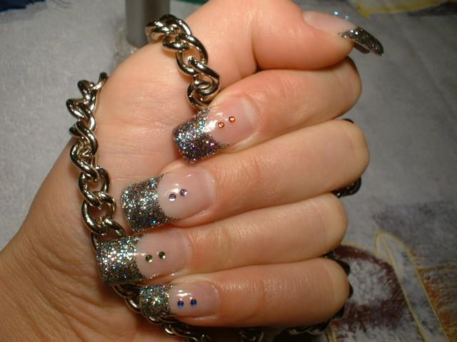 Новогодний дизайн ногтей 2013 красивые